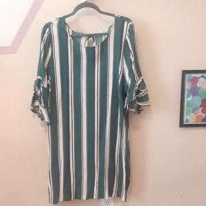 Perfectly Priscilla Stripes Dress